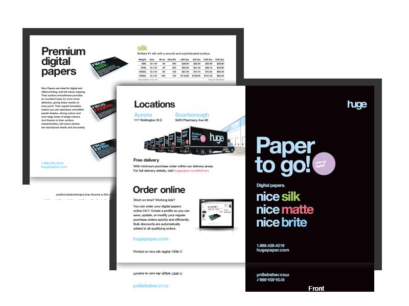 Huge Paper Email Campaign Design